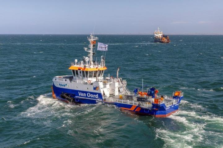Waterinjectievaartuig Maas